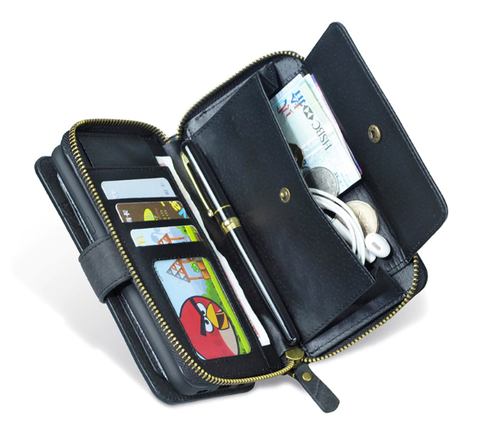 Cell Phone Case Plus Full-sized Wallet