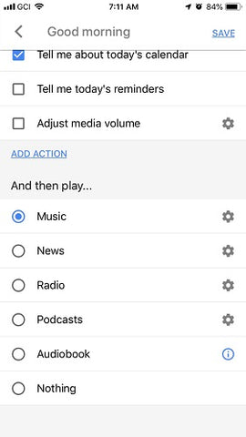 Google Assistant Routines Good Morning 2