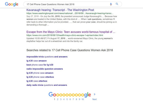 Google Page 1 Bottom of the Page 1-6-19