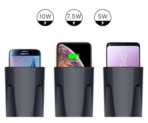 Wireless Cup Car Charger Watts
