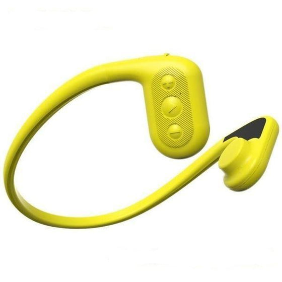 IPX8 100% Waterproof Bluetooth Bone Conduction MP3 Player Headphone