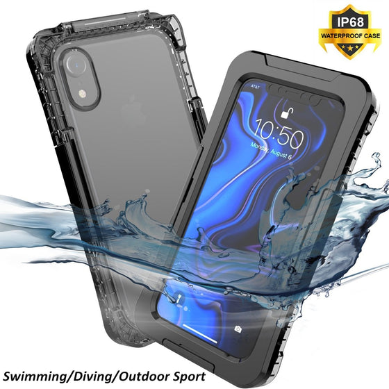 IP68 Waterproof Case For iPhone 7 8 + X XR XS XS Max