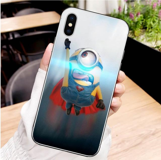 Minions iPhone Cases For XS XS MAX XR X 8 8+7 7+