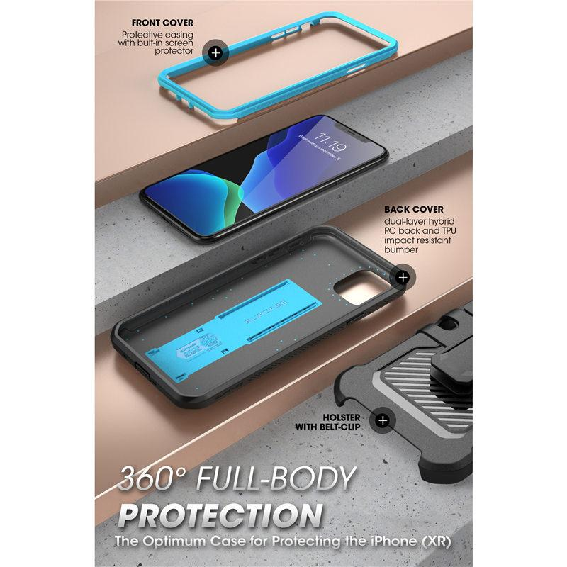 iPhone 11 Pro Full-Body Case With Built-in Screen Protector & Kickstand