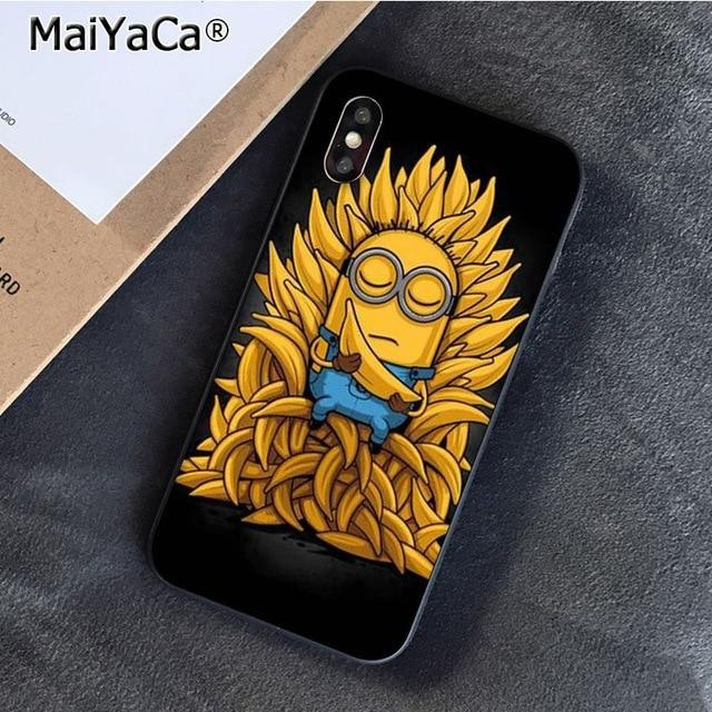 Minion Bananas & Cases for iPhone 11 Pro Max Through 7