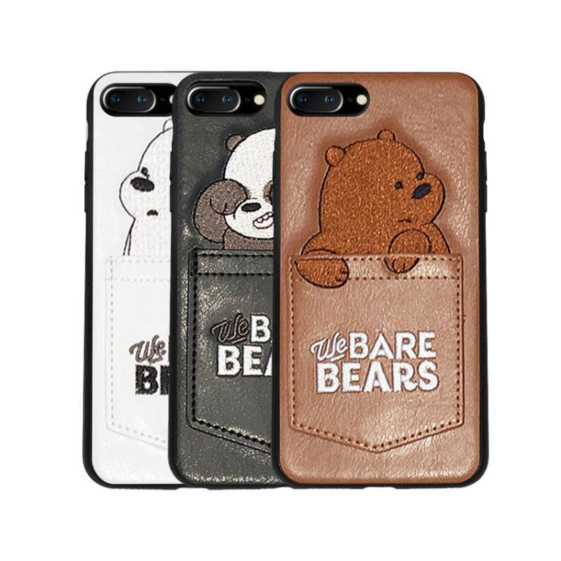 Bare Bears Soft Fitted Case for IPhone XS MAX XR X 8 +7 +6 6s +