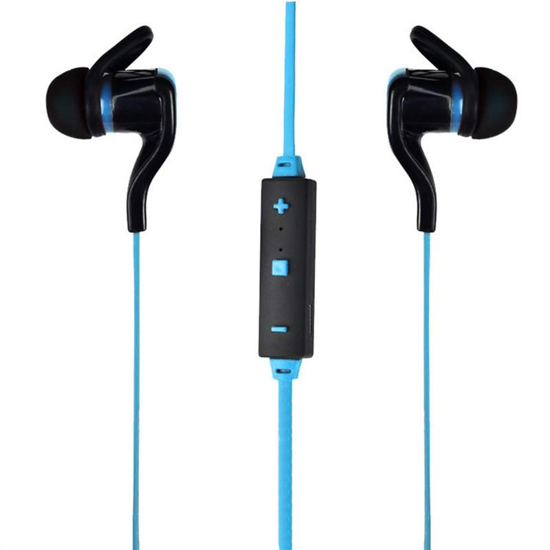 Awesome Earbuds Bluetooth V4.1 Hands-free Wireless In-ear Microphone - Blue