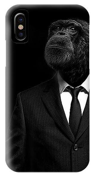 Monkey Suit iPhone Case For X 8 8+7 7+6 6s + 5 5S SE