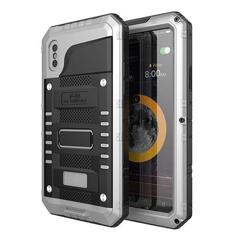 IPX68 Waterproof Aluminum Metal Case for For Apple iPhone X XS