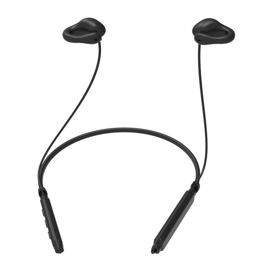 Light Thin Wireless Air Conduction Microphone Headphones