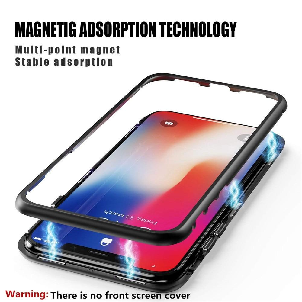 Fully Transparent Magnetic Closure iPhone XR Case