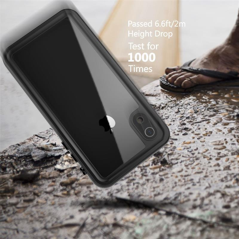 IP68 Waterproof Case For iPhone XS Max XR X 8 7+ 360 Degree Protection
