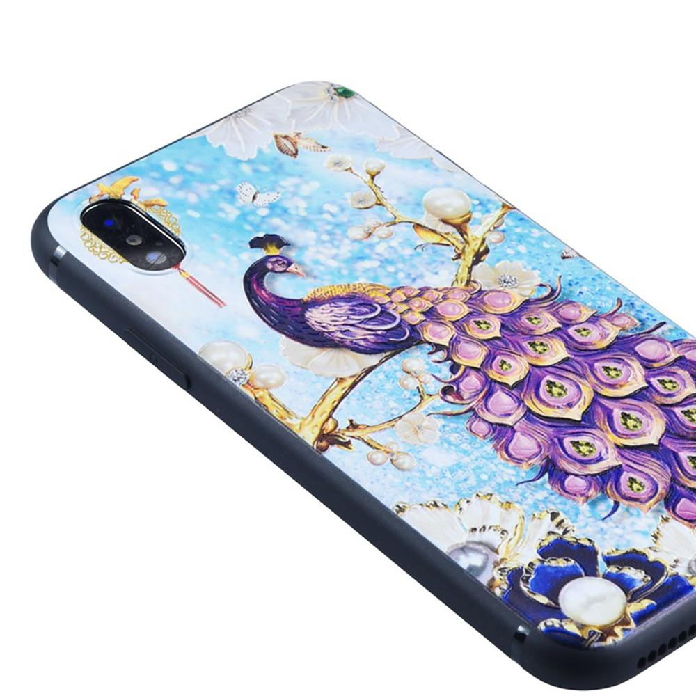 Unique and Individual Painted Robes Embossed Protective iPhone XR Case
