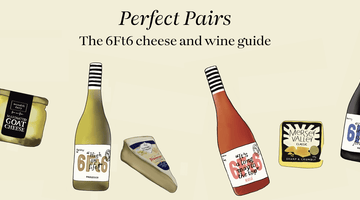 6Ft6 guide to pairing wine and cheese