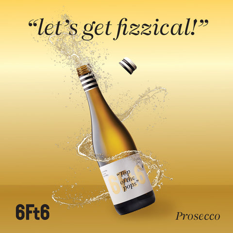 Prosecco with a twist top