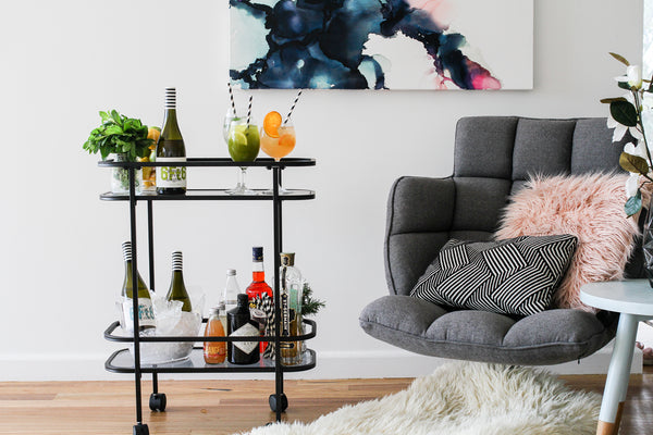 kmart drinks trolley wine spritzer bar