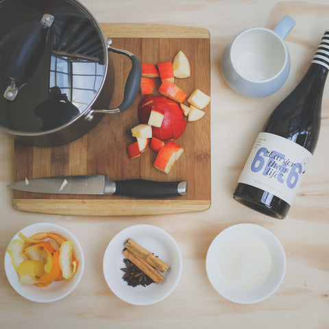 Mulled wine recipe by 6Ft6