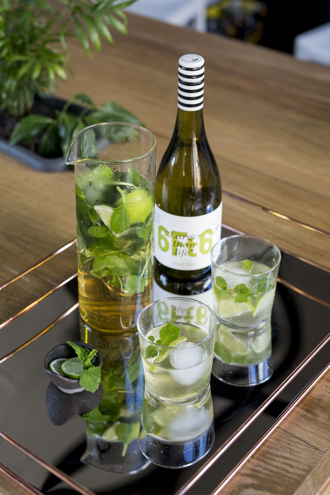 Pinot Gris Mojito | 6Ft6 Wine | Cocktails