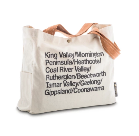 wine regions tote bag
