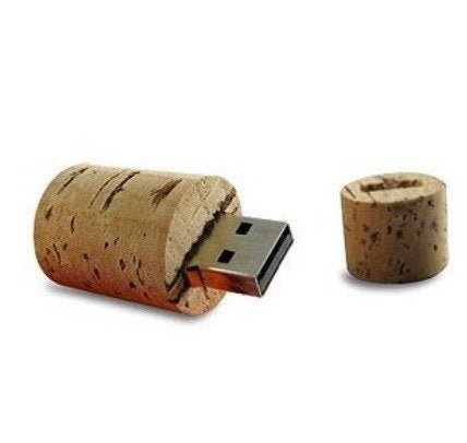 wine cork usb stick
