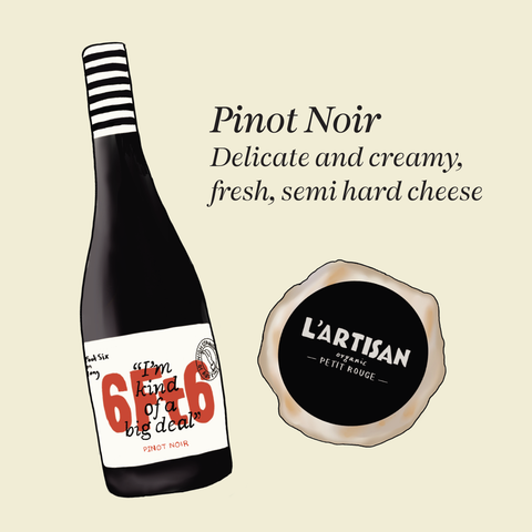 what cheese to pair with pinot noir