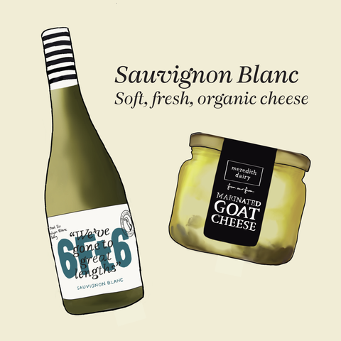 what cheese to pair with sauvignon blanc