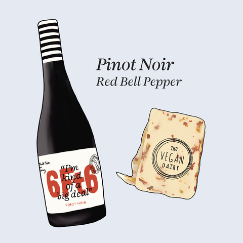 vegan cheese wine pairings pinot noir