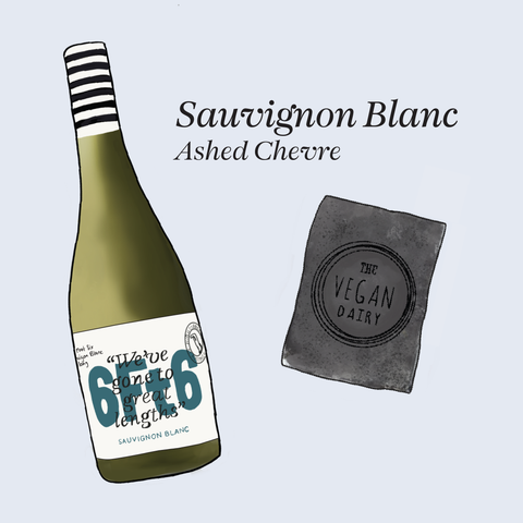 vegan cheese wine pairings Sauvignon blanc