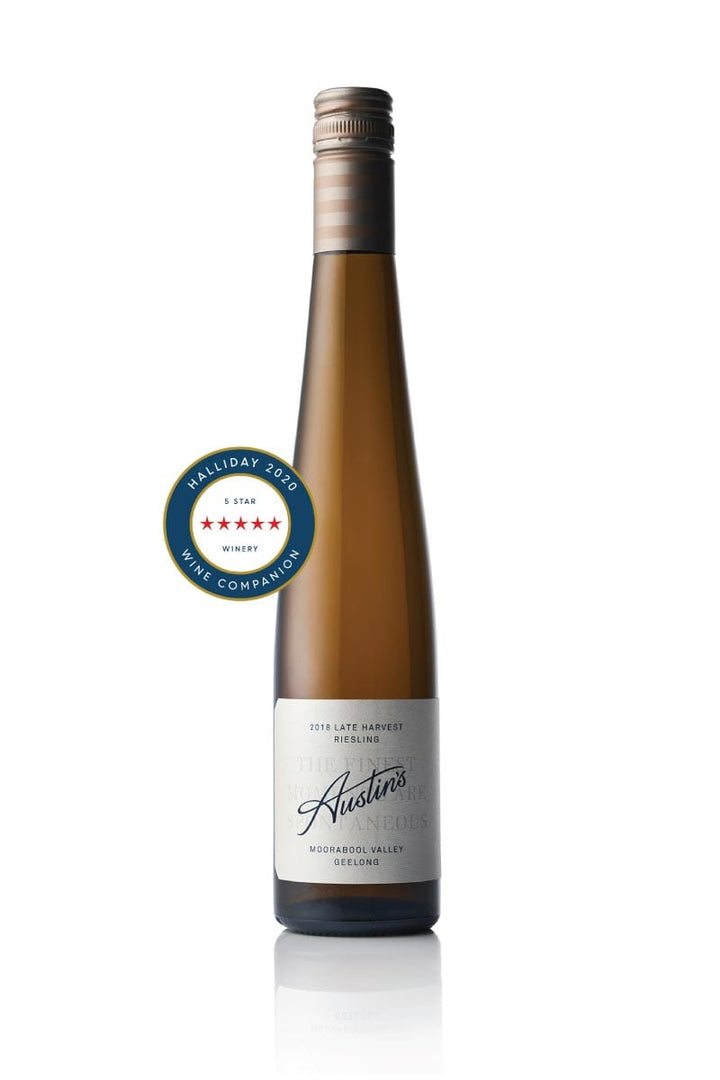 Austin's Late Harvest Riesling 2018 - 6Ft6 Wine | Moorabool Valley | Victoria