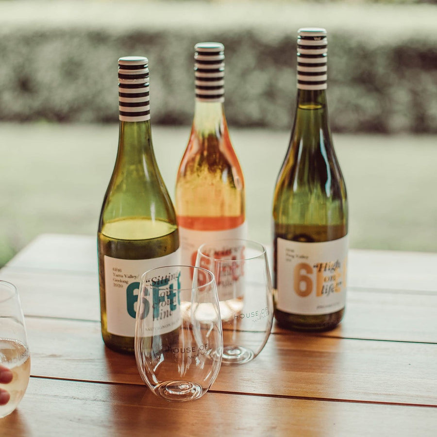 House of White Packs (with bonus glasses) - 6Ft6 Wine | Moorabool Valley | Victoria