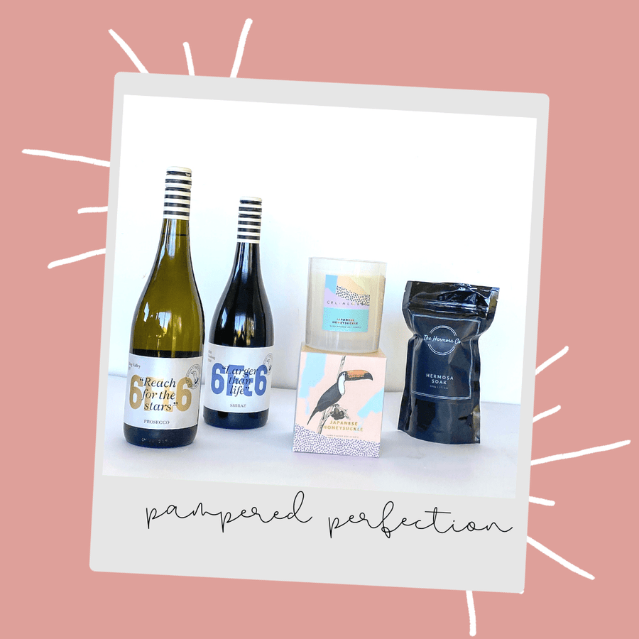 Pampered Perfection Gift Pack - 6Ft6 Wine | Moorabool Valley | Victoria