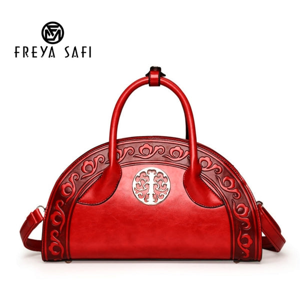 FREYA SAFI Designer Chinese Style Handbags - 4 Colors