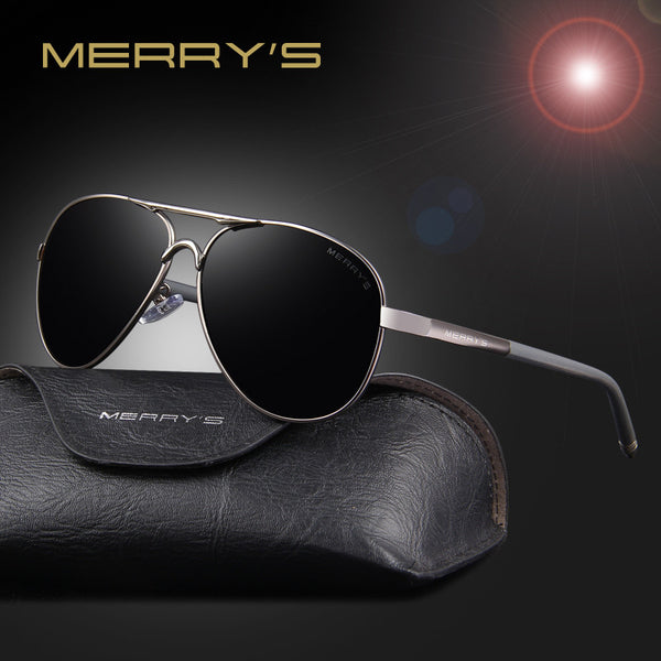 MERRY'S Men Classic Polarized Sunglasses