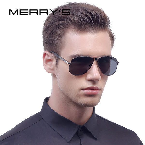 MERRY'S Men Classic Aviator Sunglasses