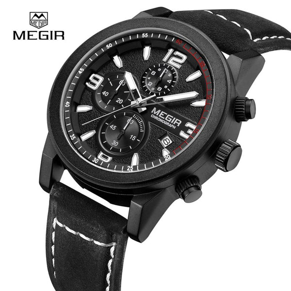 MEGIR Classic Business Quartz Watches