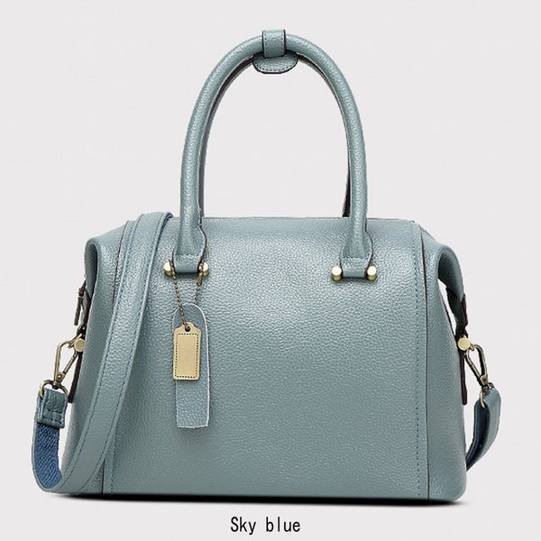 FREYA SAFI Designer Leather Messenger Handbags