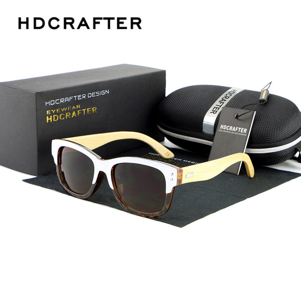 HDCRAFTER Designer Wood Sunglasses - 5 Colors