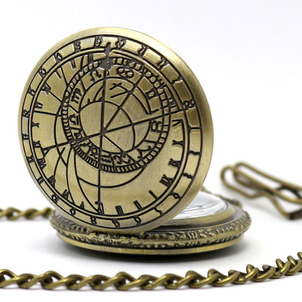 Retro Vintage Pocket Watch Gift Set
