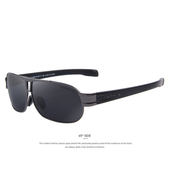 MERRY'S Men Classic Luxury Polarized Sunglasses