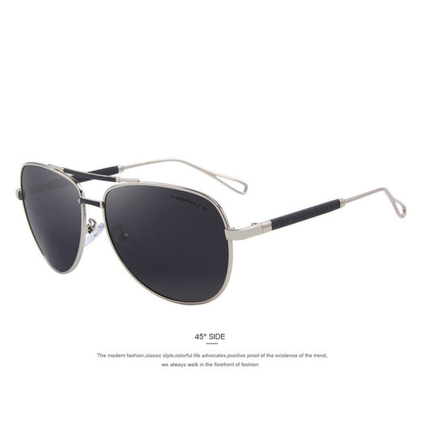 MERRY'S Men Luxury Classic Aviation Sunglasses