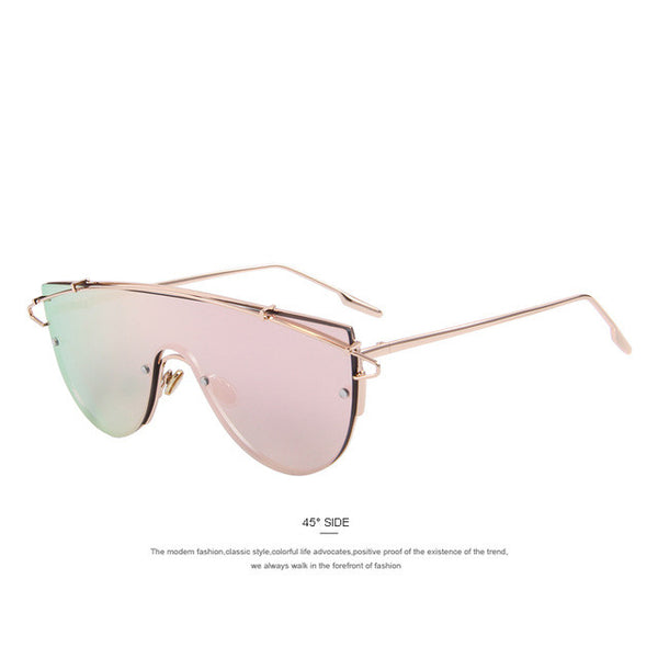MERRY'S Women Integrated Twin-Beams Sunglasses