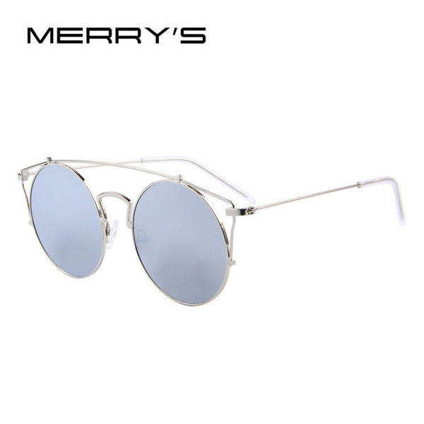 MERRY'S Women Retro Cat-Eye Sunglasses