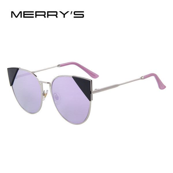 MERRY'S Women Cat-Eye Retro Sunglasses
