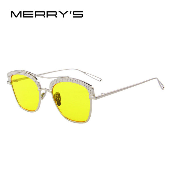 MERRY'S Women Retro Sunglasses