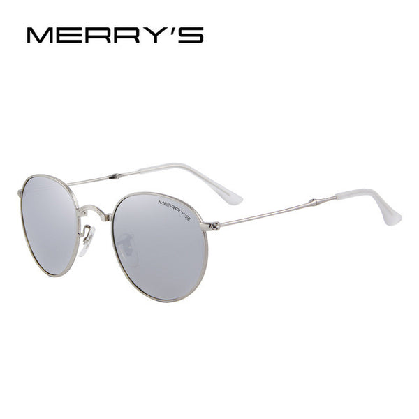 MERRY'S Unisex Retro Folding Polarized Sunglasses