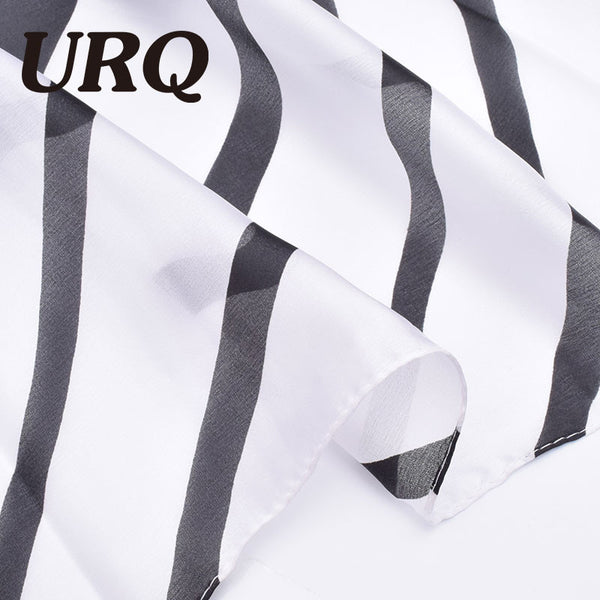 European Classic Stripes Silk Scarf