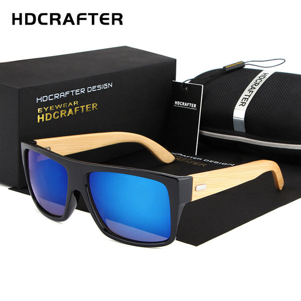 HDCRAFTER Designer Wood Sunglasses - 4 Colors