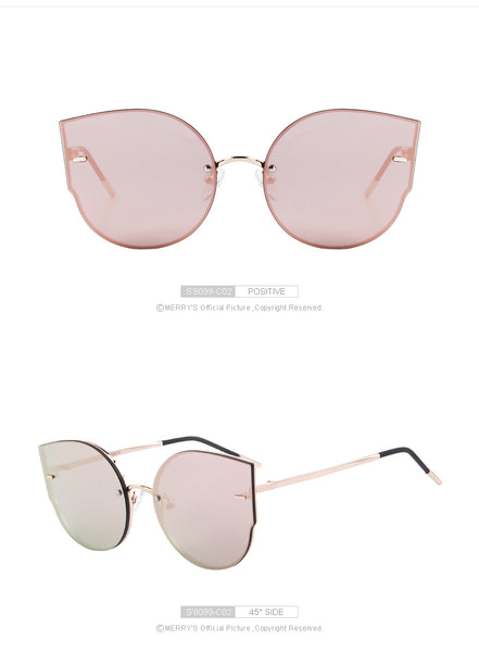MERRY'S Women Cat-Eye SunGlasses
