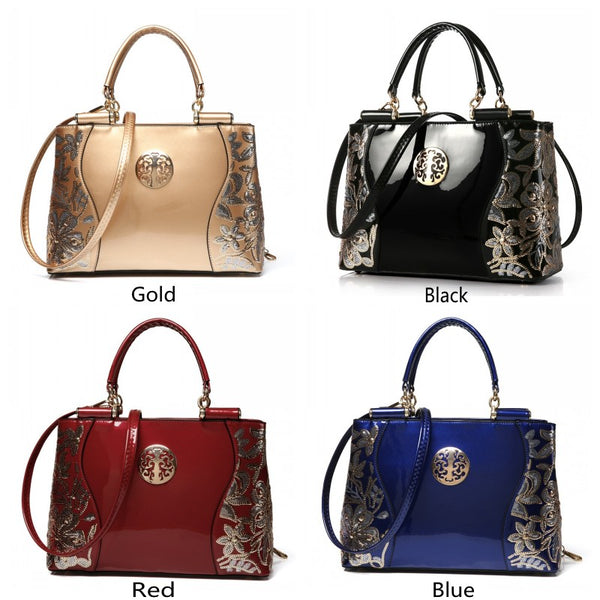 FREYA SAFI Luxury Sequin Embroidery Shoulder Handbags - 4 Colors