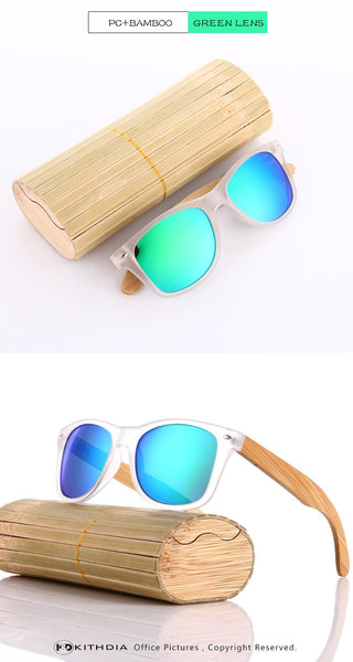 KITHDIA Bamboo HD Polarized Sunglasses - 7 Colors